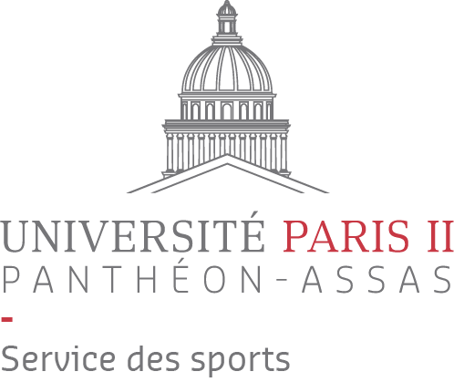 Logo du service des sports de l'université Paris 2 Panthéon-Assas
