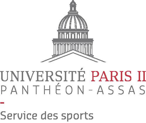 Logo du service des sports de l'université Paris 2 Panthéon-Assas